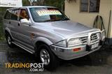 1998 SSANGYONG MUSSO (4x4)  Wagon
