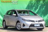2015  Toyota Corolla Ascent ZRE182R Hatchback