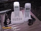 """NEAR NEW""-Oricom Cordless Phone with Integrated answering system"