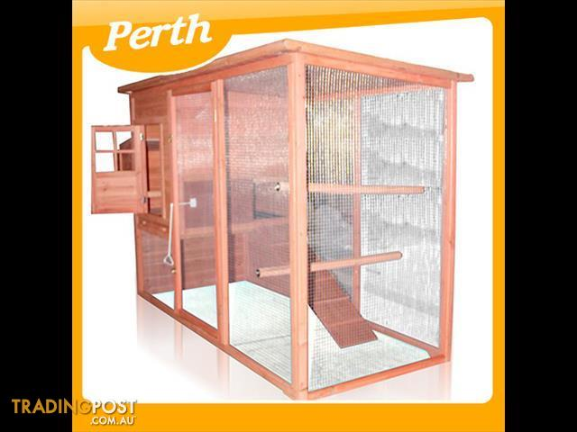 Deluxe Rabbit Hutch Chicken Coop With Nesting Box Yq8051l W
