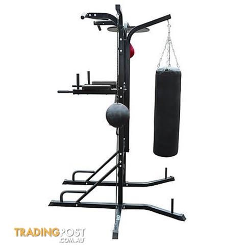 Power Boxing Station Stand Gym Speed Ball Punching Bag 7 ...