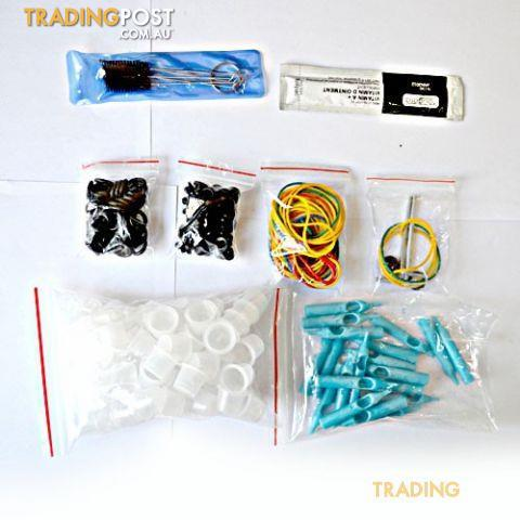 NEW Tattoo Kit 2 Machine Gun w Power Supply 40 Ink for