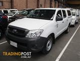 2010 TOYOTA HILUX WORKMATE TGN16R MY11 UPGRADE DUAL CAB P/UP
