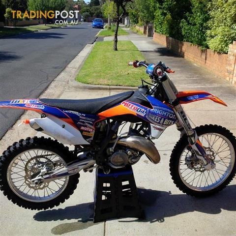 2013 ktm 125 sx 125cc my13 motocross for sale in cheltenham vic 2013 ktm 125 sx 125cc my13. Black Bedroom Furniture Sets. Home Design Ideas