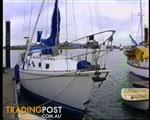 Cascade 36' fibreglass blue water cruising yacht