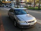 2001 HONDA ACCORD V6 4D SEDAN