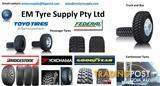 Tyres - Ad Only- Earthmover, Passenger, 4X4, Truck & Bus Tyres