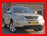 2003  LEXUS RX330 SPORTS LUXURY MCU38R 4D WAGON