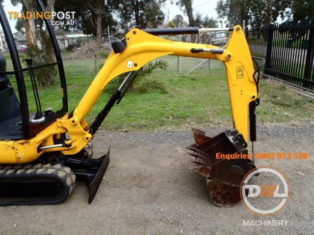 2011 JCB 8014 1.4 TONNE MINI TIGHT ACCESS EXCAVATOR BOBCAT YANMAR
