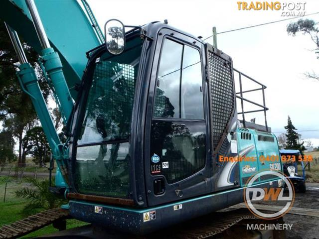 2013 KOBELCO SK200 20 TONNE EXCAVATOR ONE OWNER GREAT CONDITION