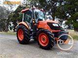 2013 KUBOTA M7040 70HP ONLY 1400HOURS TRACTOR SLASHER JOHN DEERE