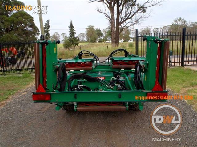 TEXTRON RANSOMES TG4650 GANG FAIRWAY GREENS CYLINDER REEL SLASHER