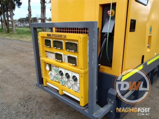 2011 ATLAS COPCO QAS100 100KVA SILENCED ENCLOSED CABIN GENERATOR