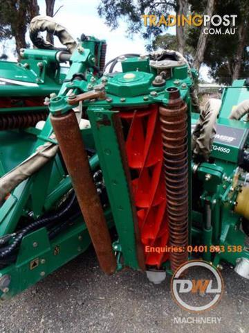 TEXTRON RANSOMES TG4650 GANG FAIRWAY GREENS CYLINDER REEL MOWER