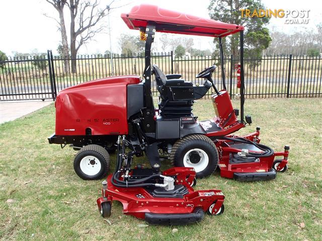 Toro groundsmaster 4000 d wide area mower lawn equipment for Garden machinery for sale