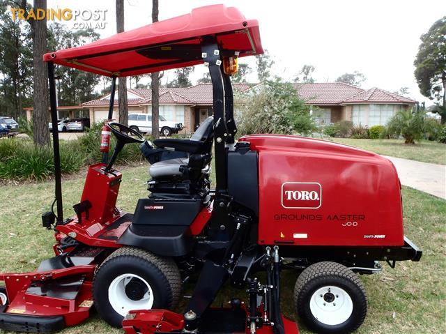 Toro groundsmaster 4000 d wide area mower lawn equipment for Lawn and garden tools for sale