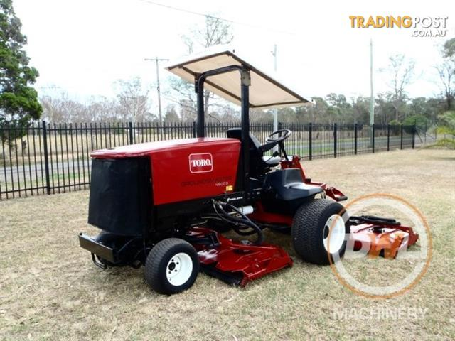 Toro groundsmaster 4500 d wide area mower lawn equipment for Garden machinery for sale