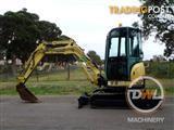 Yanmar ViO33 Tracked-Excav Excavator