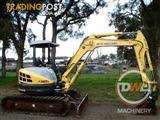 New Holland E50B Tracked-Excav Excavator