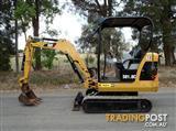 Caterpillar 301.8C Tracked-Excav Excavator