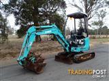 Kobelco SK17 Tracked-Excav Excavator