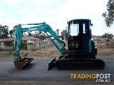 Kobelco SK55 Tracked-Excav Excavator