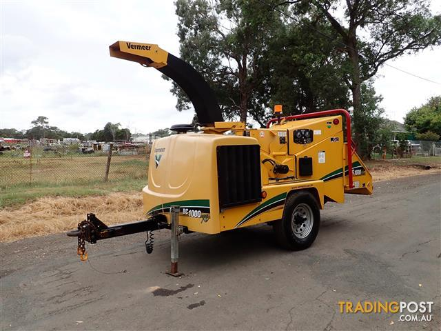 Vermeer-BC1000-Wood-Chipper-Forestry-Equipment