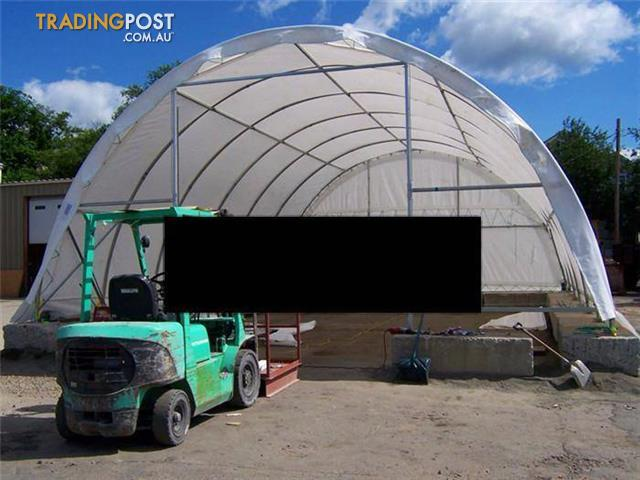 9M x 26M x 4.5m STORAGE BUILDING SHED AWNING CAR PORT WAREHOUSE