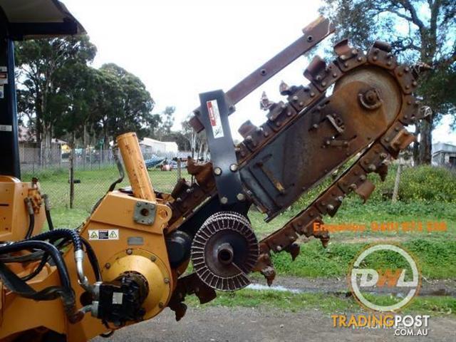 TORO CASE 960 LARGE TRENCHING TRENCH DIGGER DIGGING MACHINE