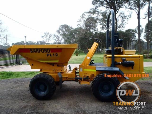 BARFORD SXR3 HI-LODA ARTICULATED 3T DUMPER DUMP TRUCK 180' SWIVEL