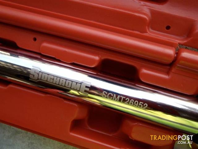 BRAND NEW SIDCHROME ELECTRONIC ANGLE TORQUE WRENCH SCMT26952 RRP: