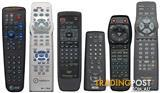 Remote Control Repairs Service for (TVs, DVD Players, SETTOP Boxes, etc...)