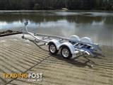 Alloy boat trailer