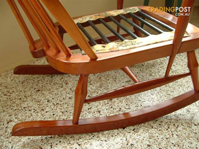 Ercol Beech and Elm Rocking Chair for sale in Rosewood QLD