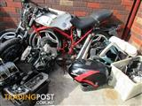1983 Honda VF400f parts left over from project