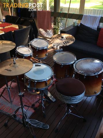 Gretsch Catalina Maple 6 piece drum kit