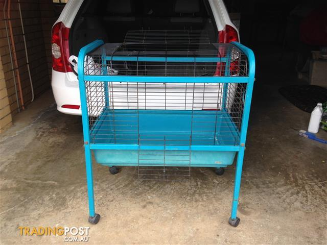 Guinea Pig / Small Rabbit Cage on Wheels