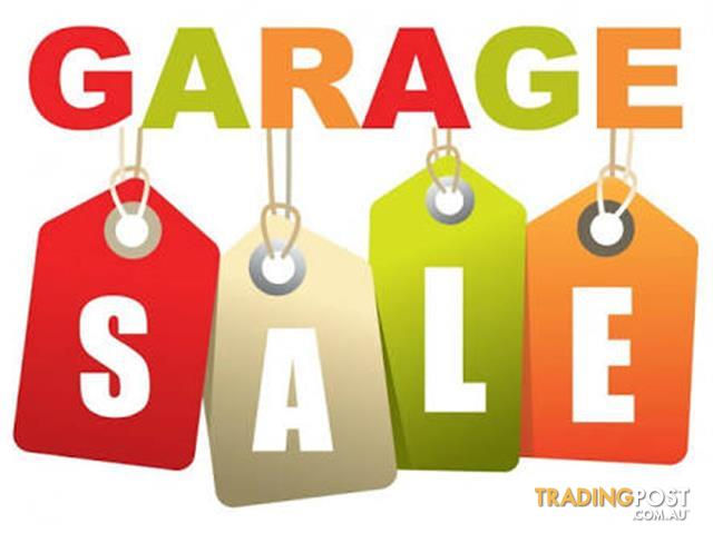 Garage Sale 8am Sunday 30th April at 3 Megalong Avenue Willoughby.