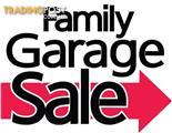 GARAGE SALE Sunday 30th April 8am